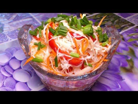 Маринованная капуста / Хрустящая и вкусная за 12 часов