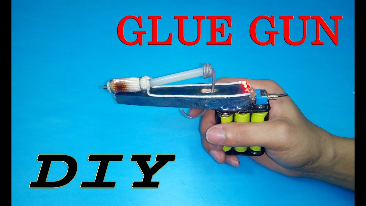 DIY - How to make a HOT GLUE at home - YouTube