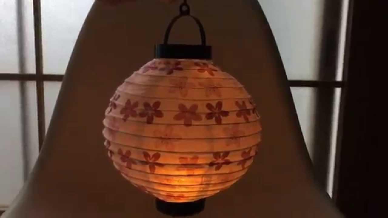 Как сделать японский фонарик с