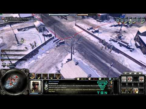 Company of Heroes 2- Ardennes Assault Gameplay 1080p HD #5 |