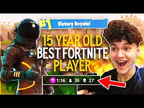 This 15 Year Old Kid Is The BEST Fortnite Player In The World (My Little Brother)