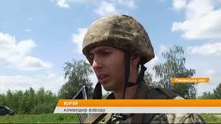 Военные освобождают населенный пункт в зоне ООС - обучение на Ровенском полигоне