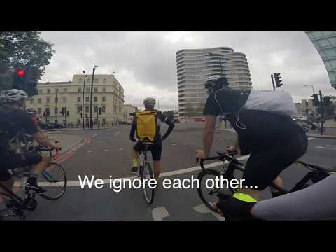 London Cycling - Argument With Fellow Cyclist