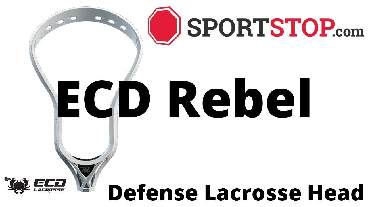909a7c0ec1e ECD Rebel Defenese Lacrosse Head Product Video  SportStop.com - YouTube