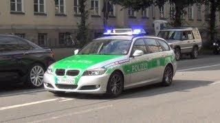Die Münchner Cops haben's mal wieder eilig...