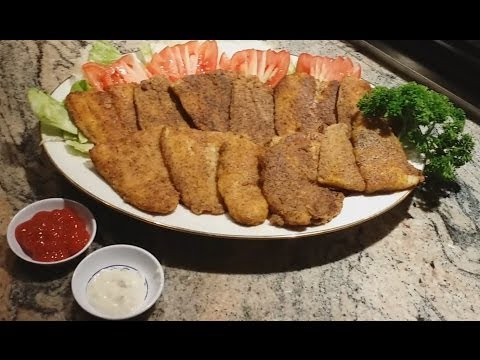 Pan Fried SWAI Fish Fillet |