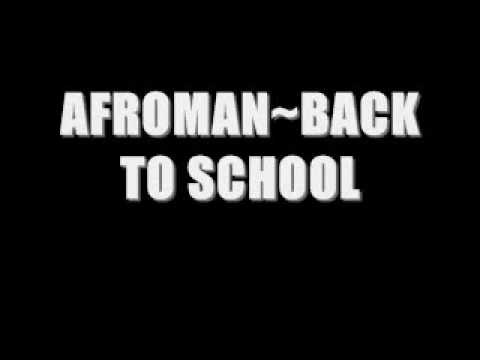 afroman-back to school
