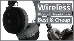 Unboxing SH12 Wireless Bluetooth Headphone With FM and SD Card Slot
