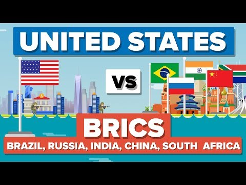 USA vs BRICS (Brazil, Russia, India, China & South Africa) 2017- Who Would Win? (skip to 74s)