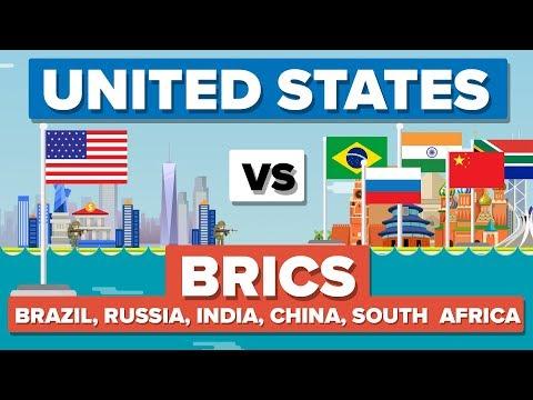 USA vs BRICS (Brazil, Russia, India, China & South Africa) 2017- Who Would Win?
