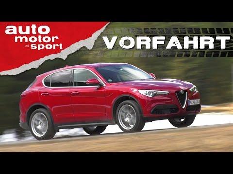 Alfa Romeo Stelvio: Zu schön, um wahr zu sein? - Vorfahrt   auto motor und sport