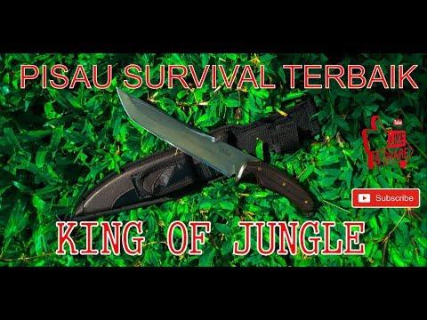 Pisau Survival King Of Jungle - Review Pisau Berkualitas