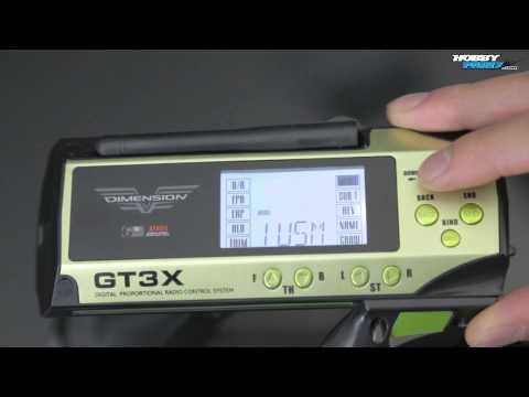 Dimension GT3X AFHDS 2.4ghz RC Radio Preview