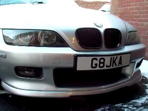 Bmw Z3 Remote Angel Eyes Youtube