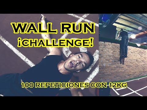 RETO De 100 WALL RUN UP Con Chaleco De 12KG (¿IMPOSIBLE?)