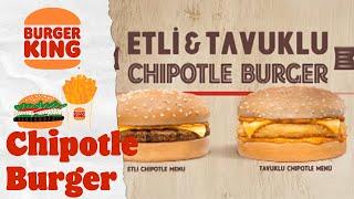 Burger King® - Chipotle Burger Kampanyası