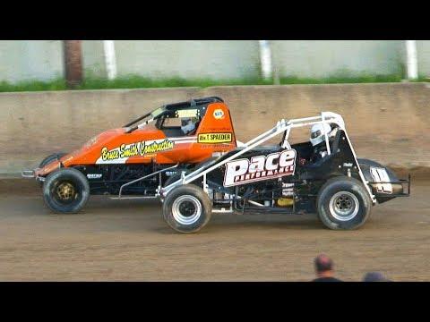 RUSH Sprint Car Feature | Old Bradford Speedway | 6-30-19