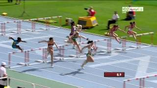 Michelle Jenneke Dancing Australian Hurdler Barcelona 2012 - Full - http://film-book.com