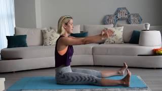 Başlangıç Seviyesi için Evde Pilates Karın Egzersizleri I Setenay ile evde egzersiz setleri