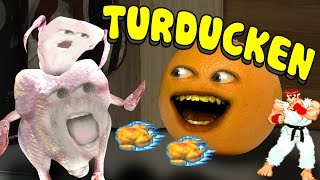 Annoying Orange - Turducken (ft. Joe Bereta, Ethan Newberry, & Mikeybolts)