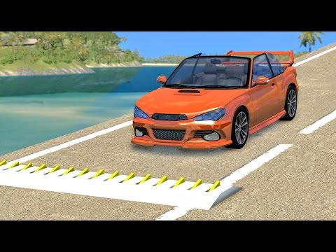 Thumbnail: Spike Strip High Speed Crashes #15 – BeamNG Drive