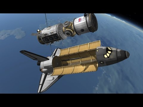 KSP: Building a Space Station!