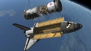 KSP 1.1: Building a Space Station!