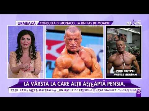 Vasile Șerban, pensionarul culturist, a cucerit un nou titlu