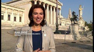 Tuzlanka Alma Zadić U Parlamentu Austrije