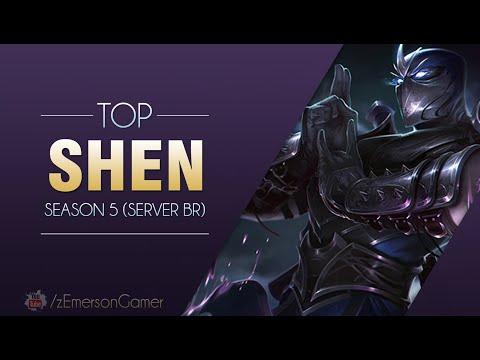 League of Legends -  Shen (Season 5: BR)