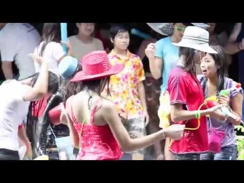 Сонгкран в Паттайе (Songkran water festival in Pattaya)