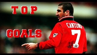 The King Cantona - Top 7 goals Manchester United