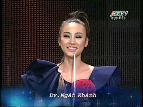 Ngân Khánh nhận giải HTV Awards 2010
