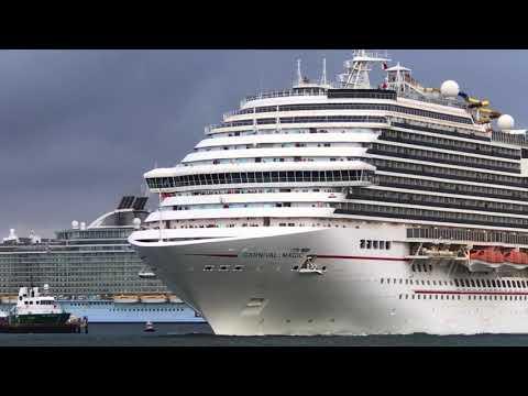 Cruise Ship Parade at Port Everglades