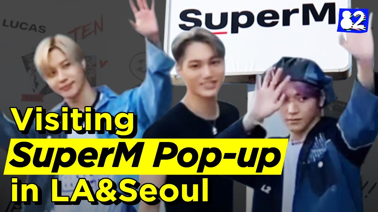 Download Comparing the SuperM popup store between LA&SeoulㅣKpop Hopping