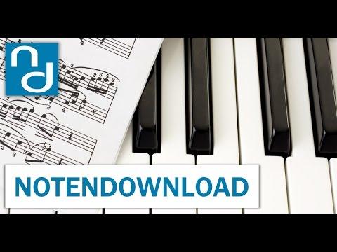 Klavier-Noten bei notendownload from YouTube · Duration:  1 minutes 19 seconds