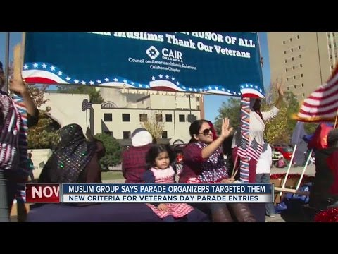 Council on American-Islamic Relations denied request to participate in 2016 Veteran's Day Parade