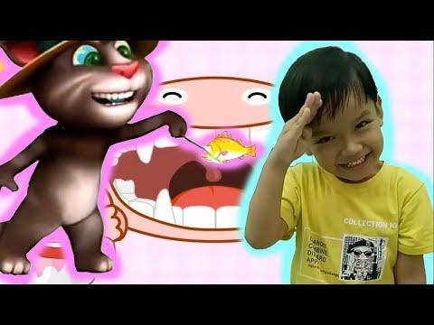 Kỹ năng cho bé tập 4 kỹ năng đánh răng bé tập đánh răng với baby bus Kênh trẻ em