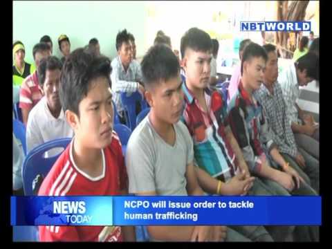 NCPO will issue order to tackle human trafficking