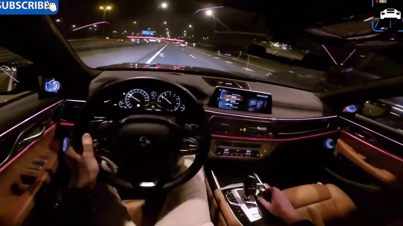BMW Convertible Inside Bmw 7 Series Bmw 7 Series 2017 Interior Night U2013 New  Cars Gallery