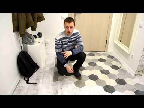 Крутое решение стыковки ламината и плитки!! Александр Оробейко