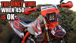 KTM 450 EXC  - trying something new!