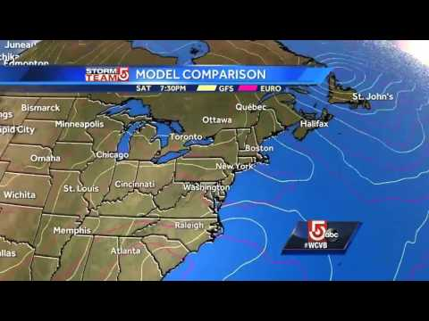 How Much Weekend Snow Forecast Disagree
