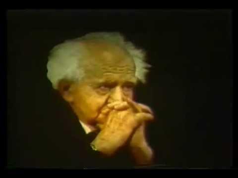 Steven Spielberg Jewish Film Archive - Celebrating David Ben Gurion: A 20th Century Statesman