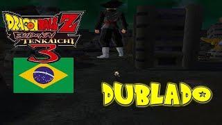 (PT-BR) Um Inimigo no Futuro - Goku Black VS Trunks Dublado   DBZ  Budokai Tenkaichi 3 Brasil