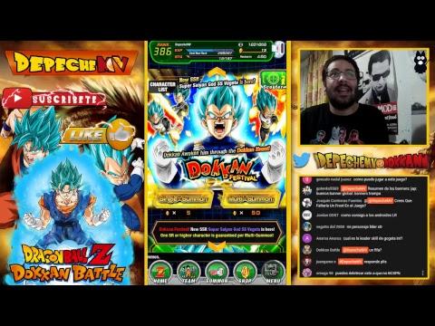 ¡DIRECTO! Un poco de Summons en Dragon Ball Dokkan Battle JP