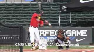 2016 Clemson Commit Seth Beer - Batting Practice