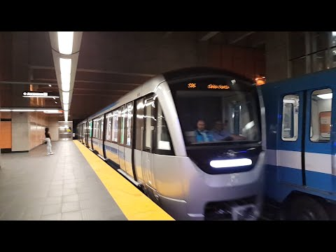 New Montreal's Metro Azur in action at various station (Part 2)