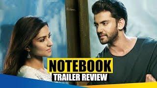Notebook I Official Trailer Review I Zaheer Iqbal I Pranutan Bahl I Nitin Kakar