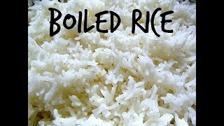 Simple Boiled rice for beginners [ENGLISH SUBTITLES]